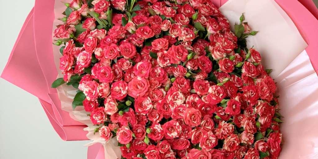 «Букет гигант №86» купить в Москве - Магазин «Цветы Цена Одна»